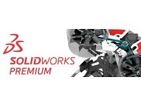 SOLIDWORKS PREMIUM AND SOLIDCAM - NOT DEMO OR TRIAL