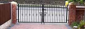 New wrought iron driveway gates various sizes £20 per ft