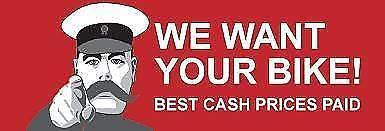 SELL YOUR BIKE TODAY $$$ ON THE SPOT - OBLIGATION FREE QUOTES Preston Darebin Area Preview