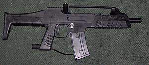 Smart parts 8 paintball marker.
