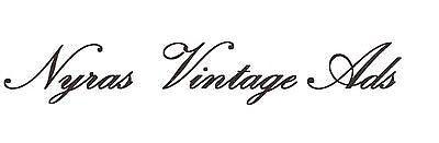 Nyras Vintage Ads