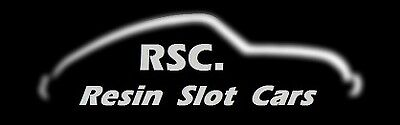 Resin Slot Cars and Parts