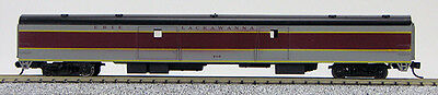 N Smooth Side Full Baggage Car Missouri Pacific 1-40353 Blue//Grey