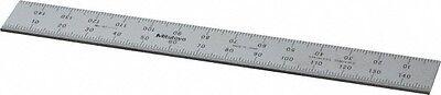 Mitutoyo 150mm Long 0.5 1mm Graduation Rigid Stainless Steel Rule Metric G...