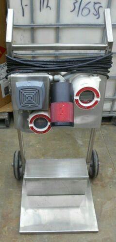 MSA 815406 ULTIMA SENSOR GAS MONITOR W/ALARM SIGNAL & STAINLESS STEEL CART
