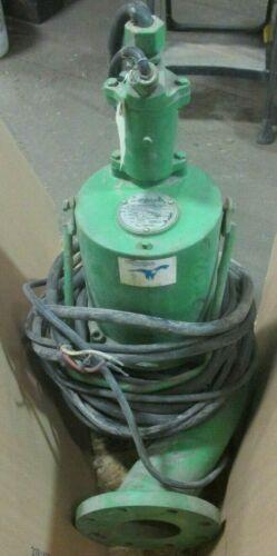 2 HP 460 V S4N200M4-4 Hydromatic Submersible Sewage Pump 44859LPI