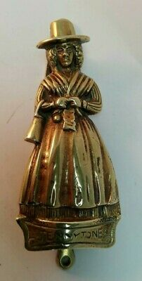 Vintage Brass Jenny Jones Door Knocker Solid Brass ID3510 B33