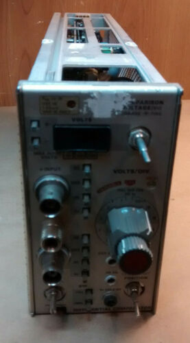 Tektonix 7A13 Oscilloscope Plug in Module - Differential Comparator - Fast Ship