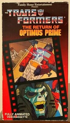 The Transformers - The Return of Optimus Prime, Parts 1 & 2 (VHS, 1987)