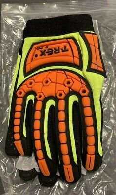 T-REX by MAGID TRX641-N Glove Sz L Synthetic Leather w/ Grip Dots
