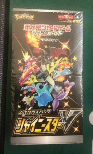 Pokemon Sword Shield Shiny Star V S4a Japanese Booster Box Sealed