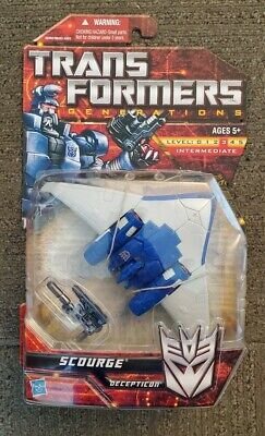 New Hasbro Transformers Generations CHUG Decepticon Scourge Deluxe Class MOSC
