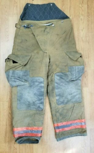 Globe Firefighter Bunker Turnout Pants 36 x 30