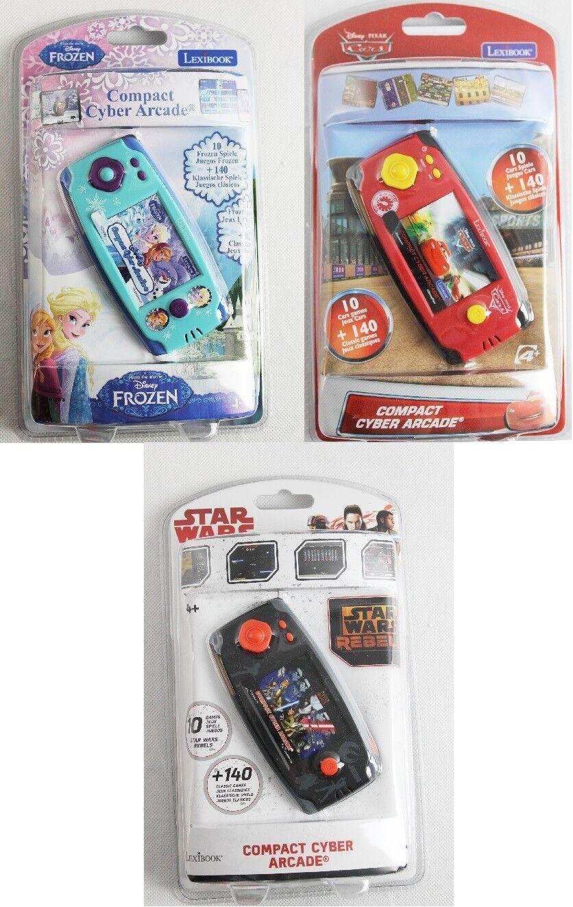 LEXIBOOK Spielekonsole Compact Cyber Arcade mit 150 Spiele
