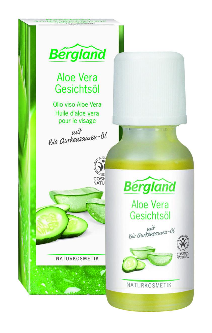 Bergland Aloe Vera Gesichtsöl  Naturkosmetik Bio vegan  20ml