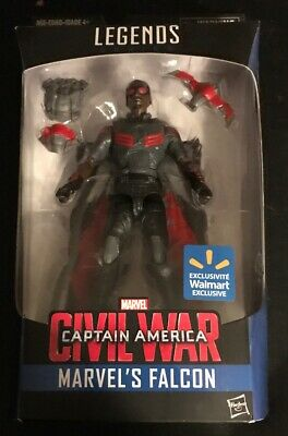 MISP HASBRO Marvel Legends FALCON Captain America Civil War WALMART EXCLUSIVE 6""