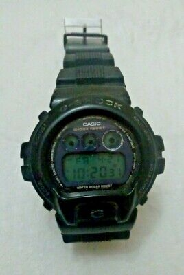 Used, Black CASIO G-Shock DW-6900E Water 20BAR Resist for sale  Morocco
