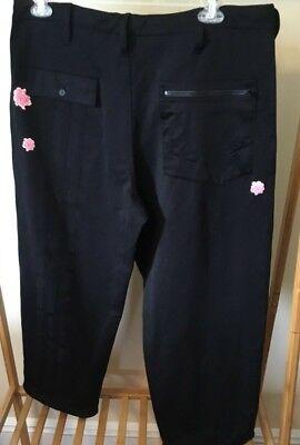 Adidas Y-3 Yohji Yamamoto Bashyo Harden DN8818 men's wide floral black pants