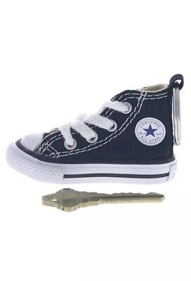 Black Converse All Star Chuck Taylor Sneaker Shoe Keychain