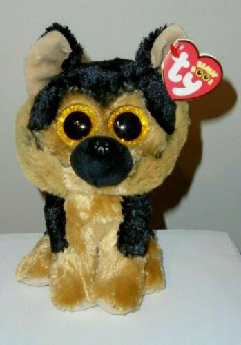 NEW - Ty Beanie Boos - SPIRIT the German Shepherd Dog (6 Inch) 2020 NWT