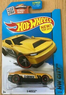 Hot Wheels 2015 D-Muscle - HW City Series - New In Box
