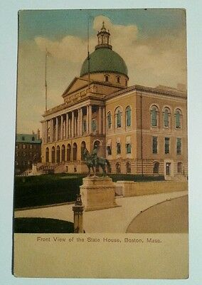 BOSTON MA Postcard - State House c 1907-1915 Antique