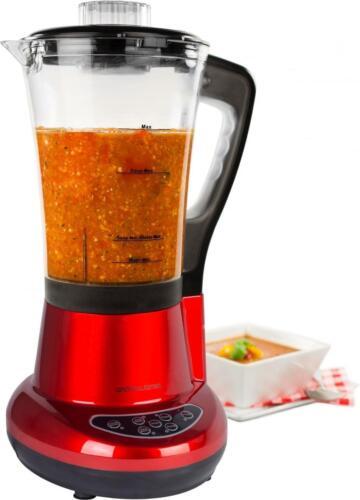 andrew james 7 in 1 red electric soup maker blender. Black Bedroom Furniture Sets. Home Design Ideas