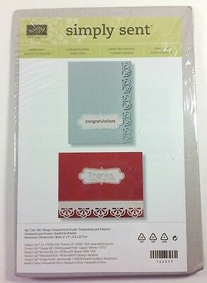 Stampin' Up! Simply Sent Everyday Elegance Card Kit With Envelopes Set of 8