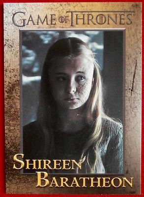 GAME OF THRONES - Season 5 - Card #75 - SHIREEN BARATHEON - Rittenhouse 2016