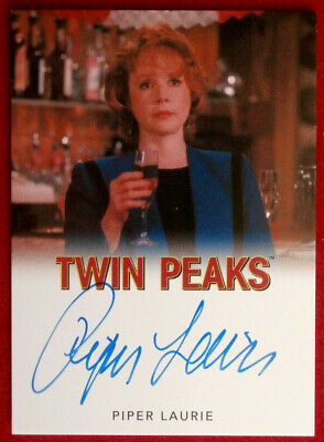 David Lynch's TWIN PEAKS - PIPER LAURIE - LIMITED EDITION Autograph Card