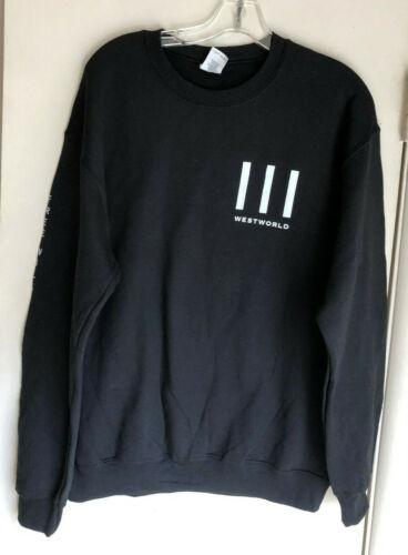 Westworld HBO Rare TV Promotional Black Sweatshirt - Size M - BRAND NEW WOT!