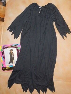 Baby In Halloween Costumes (New in Package Halloween Witch Costume Black Hat Costuming Large)