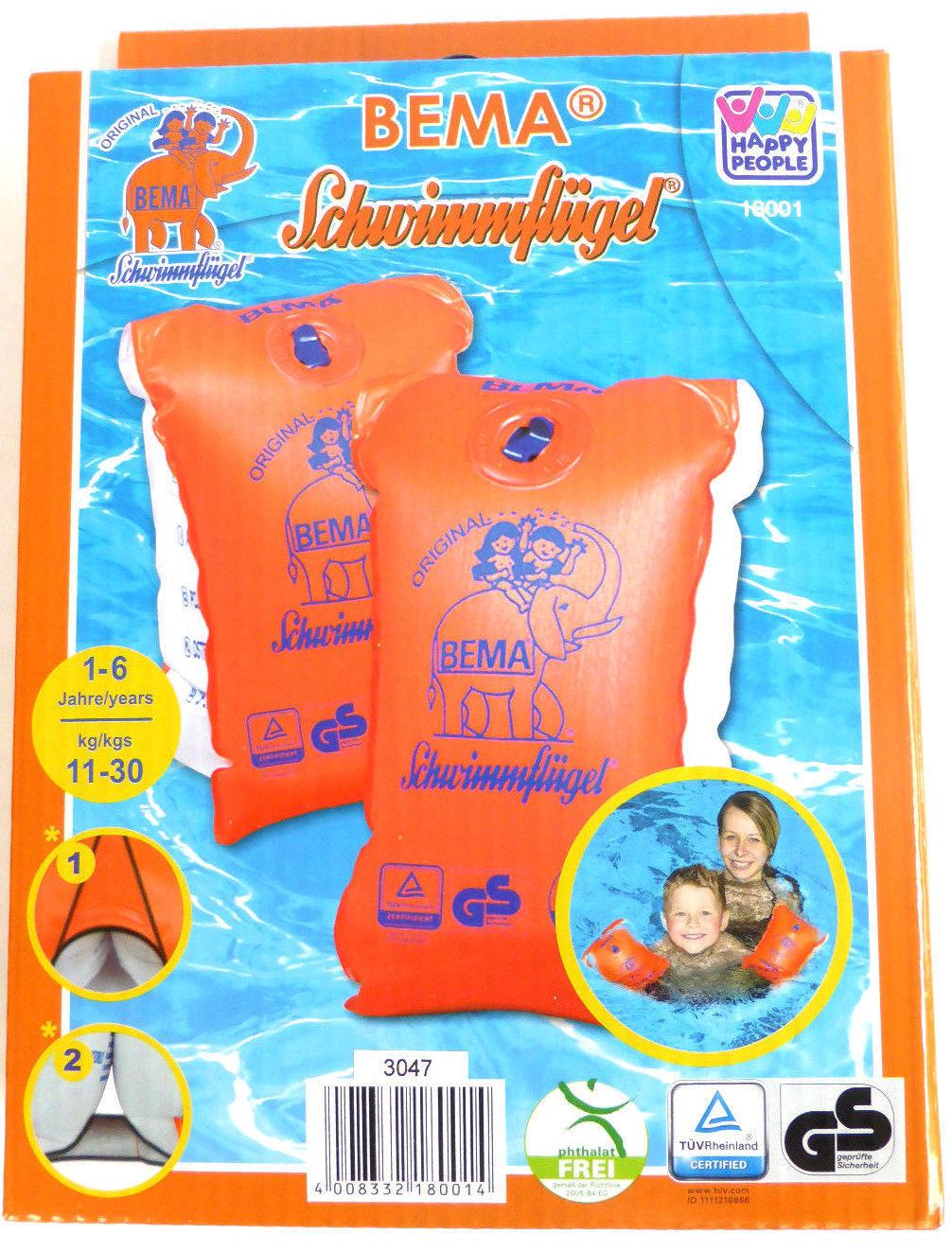 1-6 Jahre günstig kaufen Badespielzeug-Schwimmflügel Happy People Schwimmflügel Gr
