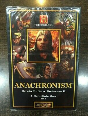 ANACHRONISM Hernan Cortes vs Moctezuma II 2 Player starter
