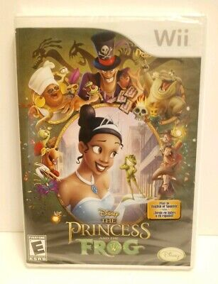 Disney - The Princess And The Frog (Nintendo Wii, 2007) -  New Factory