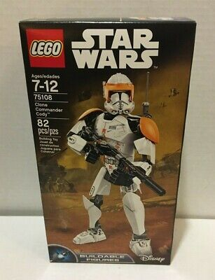 LEGO Star Wars Clone Commander Cody Buildable Figure 75108, Brand New - Retired! Lego Star Wars Clone