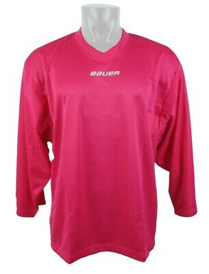 bae3a27c5 Bauer Hockey Youth Child Pink 6001 Practice Jersey Goalie Cut