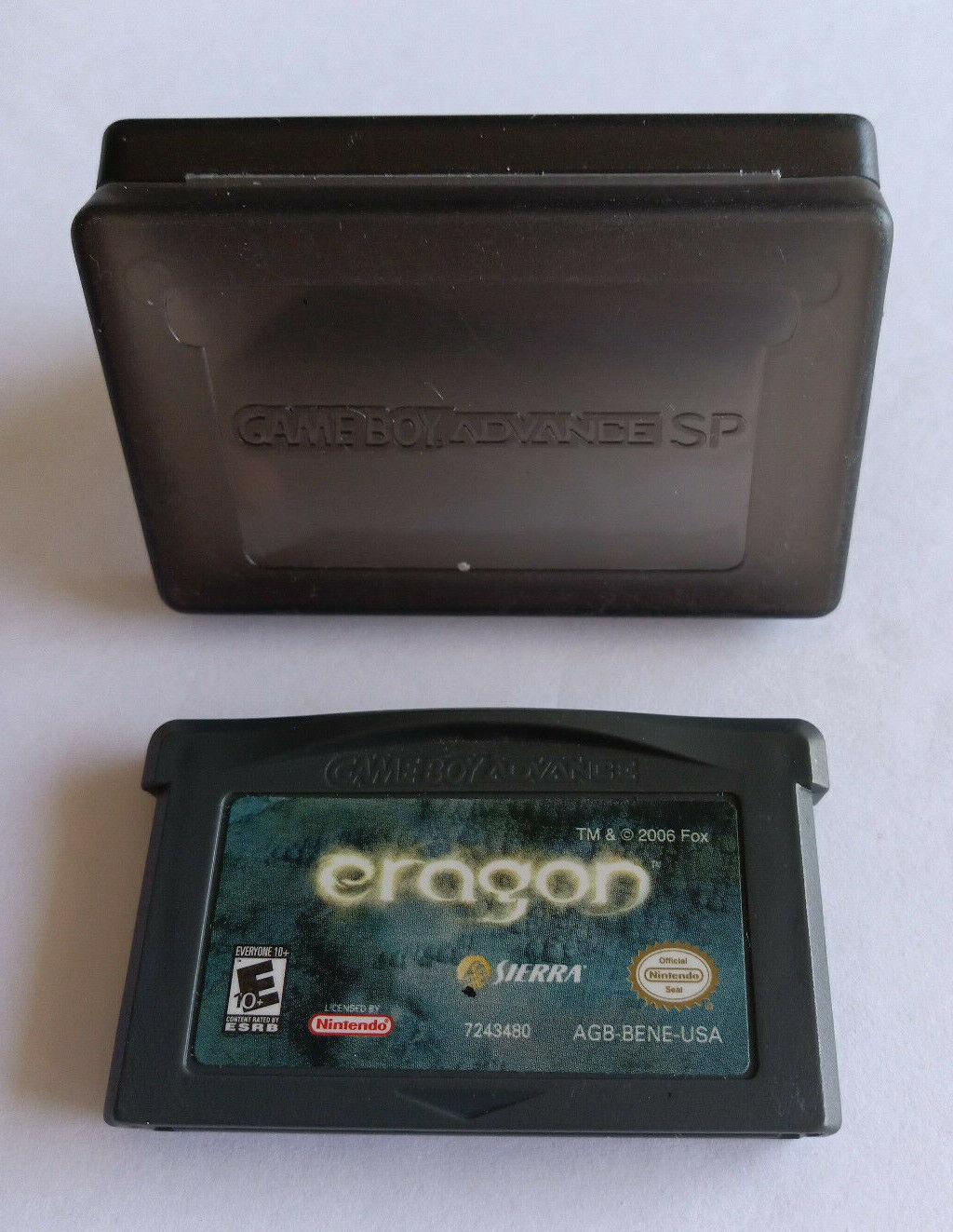 Eragon Games For GameBoy Advance Tested Works - $5.00
