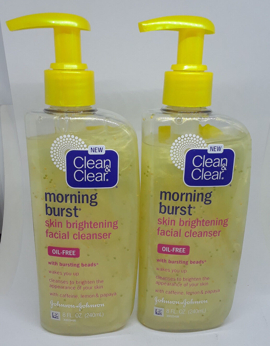 Clean&Clear - Morning Burst Skin Brightening Facial Cleanser