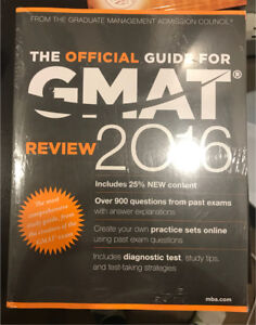 GMAT 2016 guide & review books