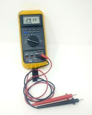 Precision Diagnostics Instruments Pdi 870 Automotive Meter Pdi Ca-600 Addc