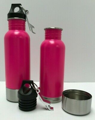 Bottle Armour Pink/Pink 2 Pack Beer Bottle Holder and Insulator Free Ship!