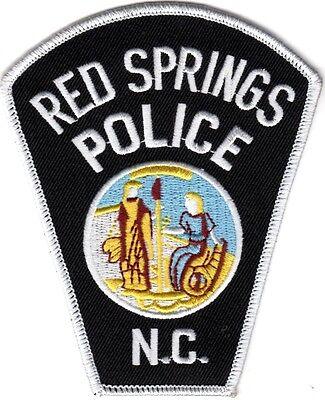 Red Springs Police North Carolina NEW