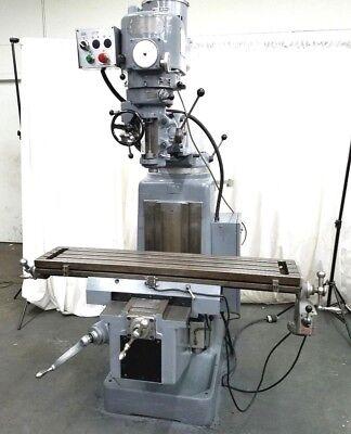 Sharp 3hp Super Heavy Duty Milling Machine Mill Miller Variable Speed