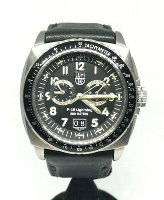 LUMINOX P-38 Lightning 200 Meters 9440 Chronograph Men's Watch [44 mm] w/Box