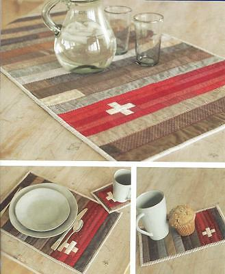 Alpine Army Table Collection Quilt Pattern By Jerilynn Lijewski Indygo Junction - $10.00