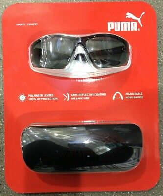 PUMA Sunglasses Polarized Lenses 100% UV Protection Anti-Reflective (Sunglasses 100 Uv)