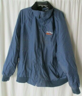 Vintage PARTS PLUS USA Fleece Lined Jacket Sz 2XL  for sale  Shipping to India