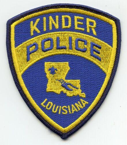KINDER LOUISIANA POLICE PATCH