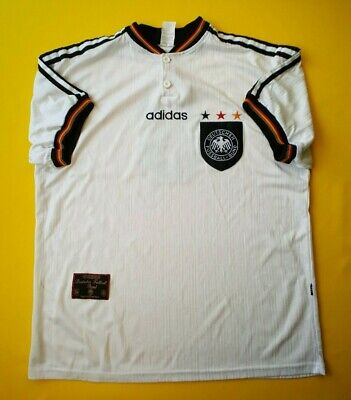 8bf87d062 5 5 Germany soccer jersey large 1996 home shirt Adidas football ig93